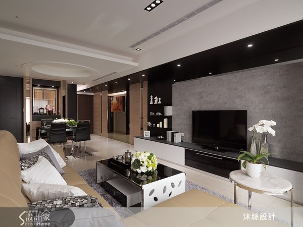 45坪新成屋(5年以下)_現代風案例圖片_沐絲室內裝修有限公司_沐絲_08之12