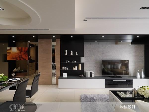 45坪新成屋(5年以下)_現代風案例圖片_沐絲室內裝修有限公司_沐絲_08之7