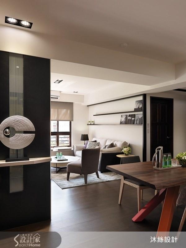 35坪新成屋(5年以下)_現代風案例圖片_沐絲室內裝修有限公司_沐絲_09之2