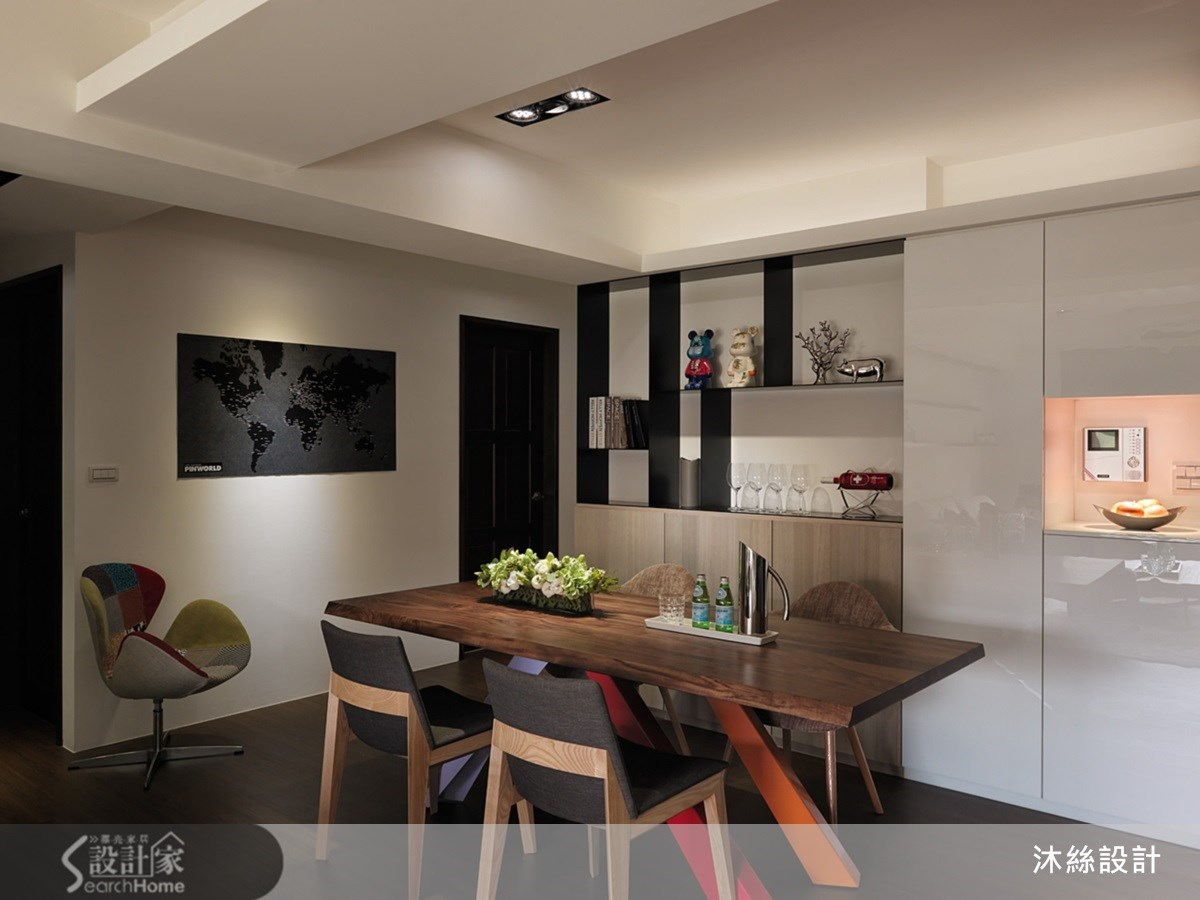 35坪新成屋(5年以下)_現代風案例圖片_沐絲室內裝修有限公司_沐絲_09之4