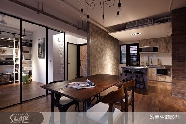 17坪老屋(16~30年)_工業風餐廳廚房吧檯案例圖片_浩室設計_浩室_06之5