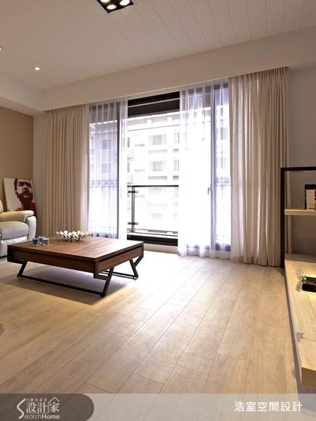 45坪新成屋(5年以下)_北歐風客廳案例圖片_浩室設計_浩室_07之2