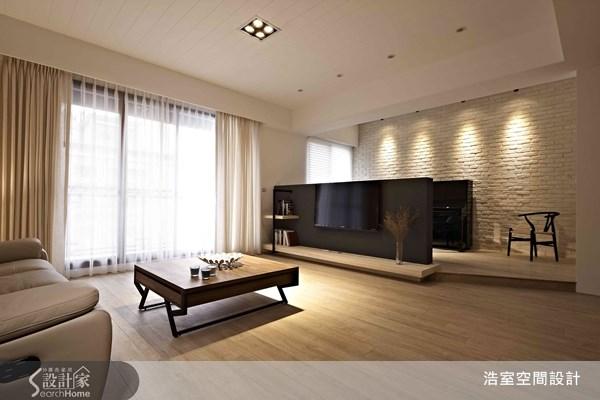 45坪新成屋(5年以下)_北歐風客廳案例圖片_浩室設計_浩室_07之3