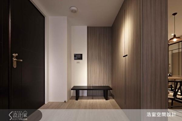 45坪新成屋(5年以下)_北歐風玄關案例圖片_浩室設計_浩室_07之1