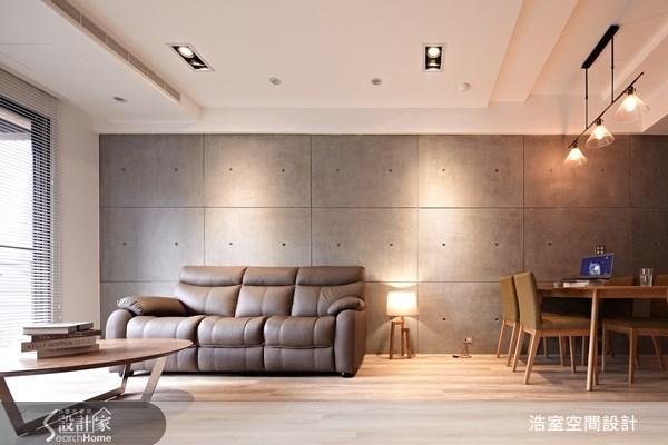 45坪新成屋(5年以下)_現代風客廳餐廳案例圖片_浩室設計_浩室_08之4
