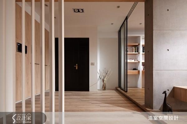 45坪新成屋(5年以下)_現代風玄關案例圖片_浩室設計_浩室_08之1