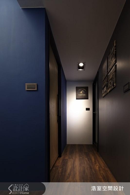 25坪新成屋(5年以下)_現代風走廊案例圖片_浩室設計_浩室_09之1