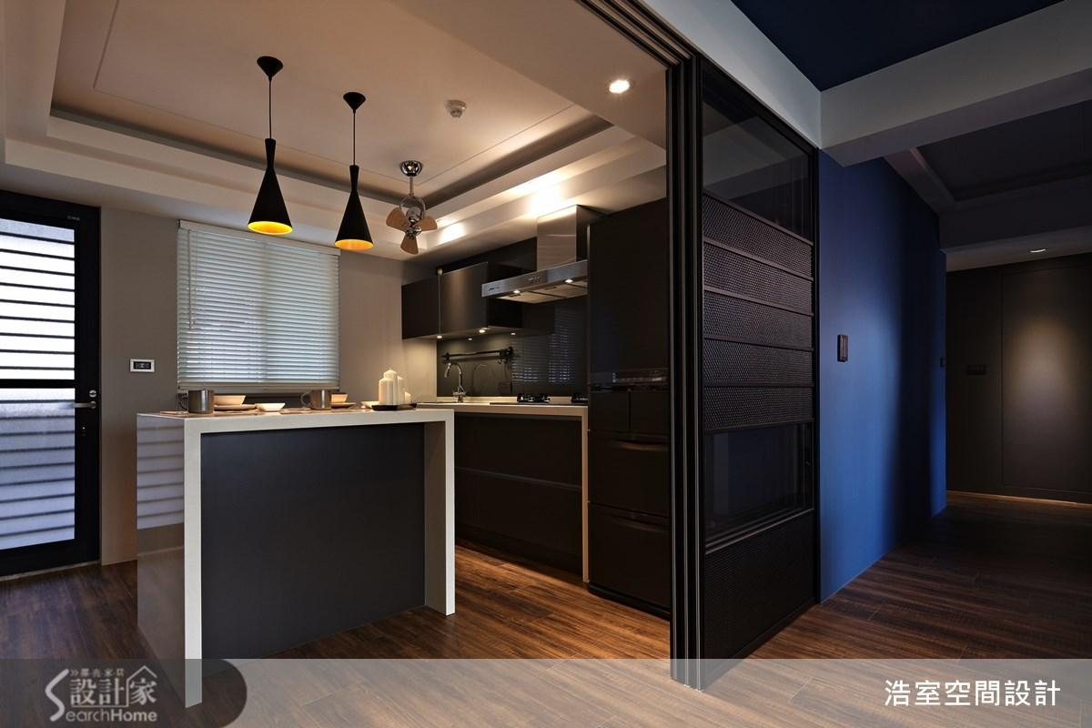 25坪新成屋(5年以下)_現代風廚房案例圖片_浩室設計_浩室_09之3
