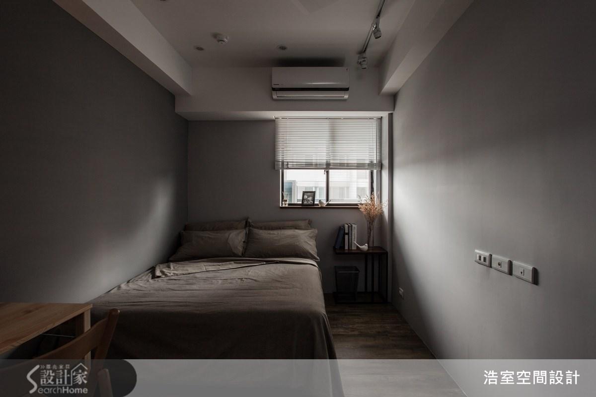 25坪老屋(16~30年)_美式風臥室案例圖片_浩室設計_浩室_11之15