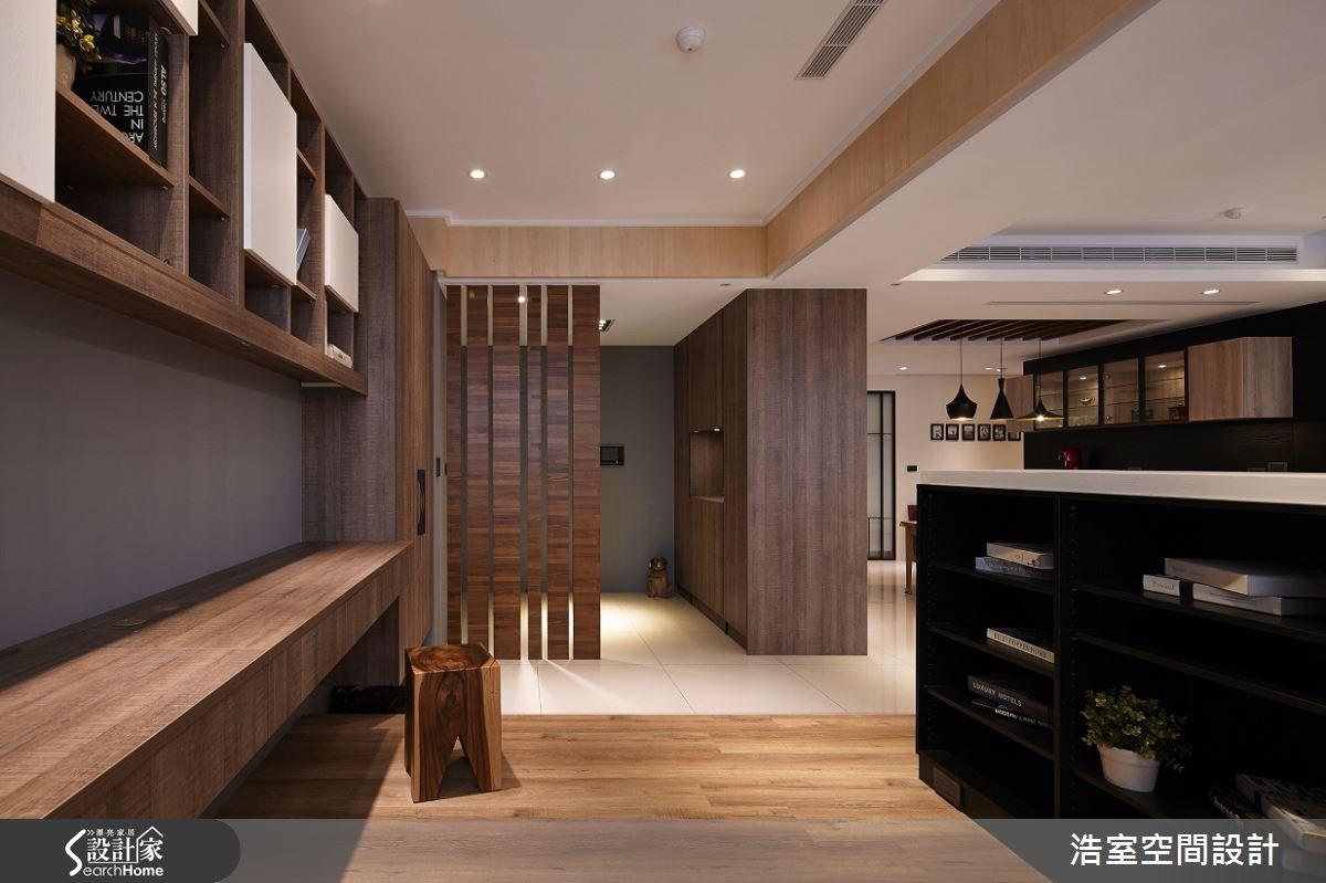 60坪新成屋(5年以下)_北歐風客廳案例圖片_浩室設計_浩室_13之4