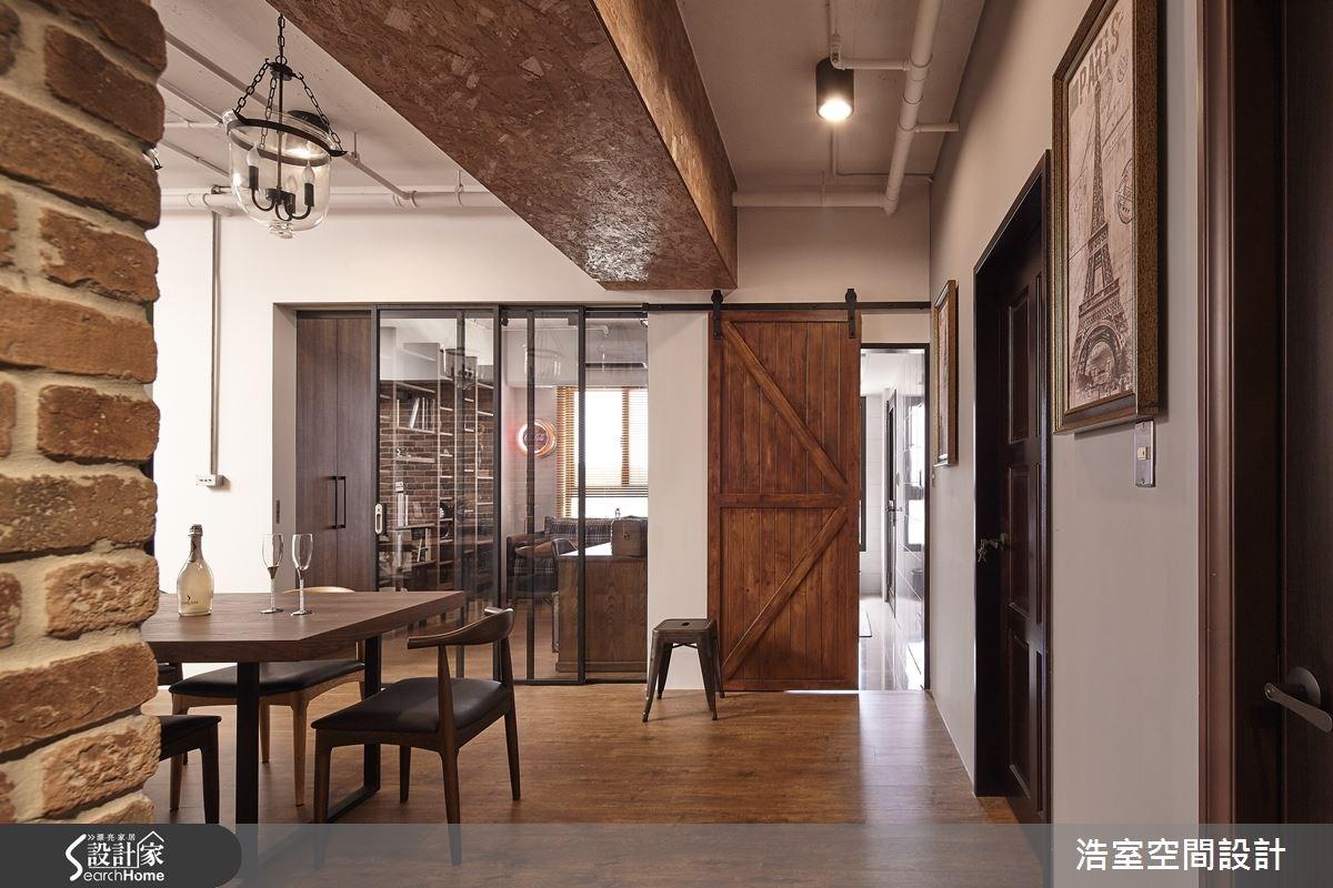 25坪新成屋(5年以下)_工業風餐廳案例圖片_浩室設計_浩室_15之4