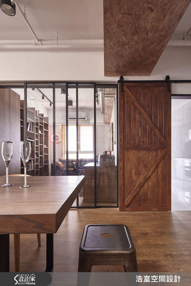 25坪新成屋(5年以下)_工業風餐廳案例圖片_浩室設計_浩室_15之5