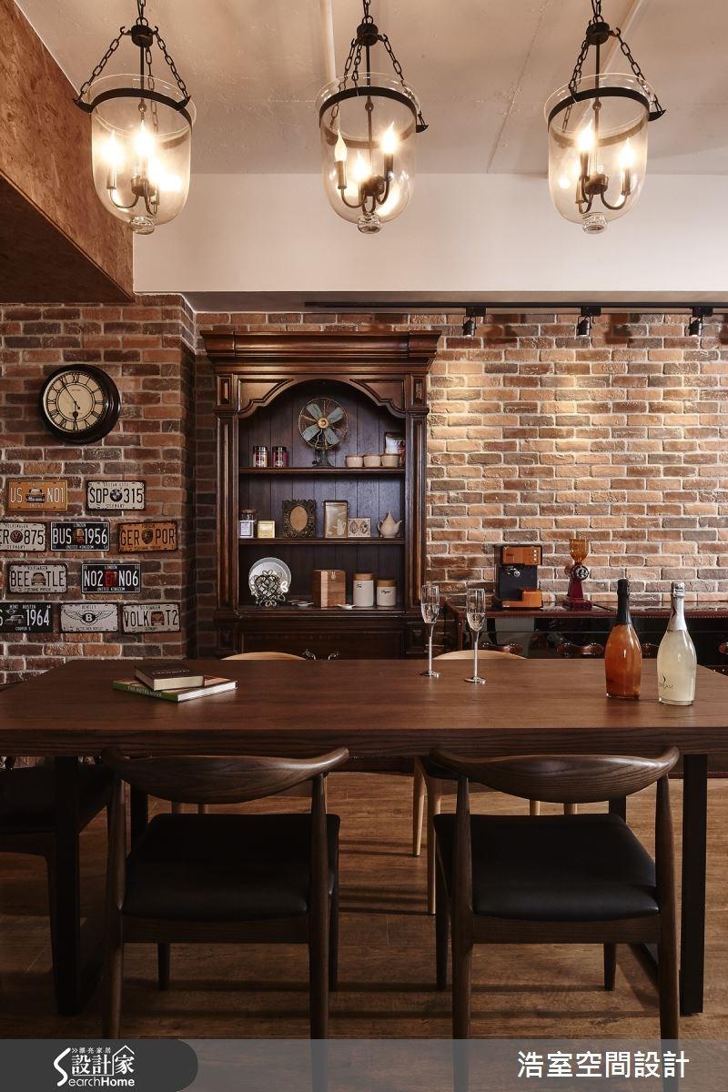 25坪新成屋(5年以下)_工業風餐廳案例圖片_浩室設計_浩室_15之9