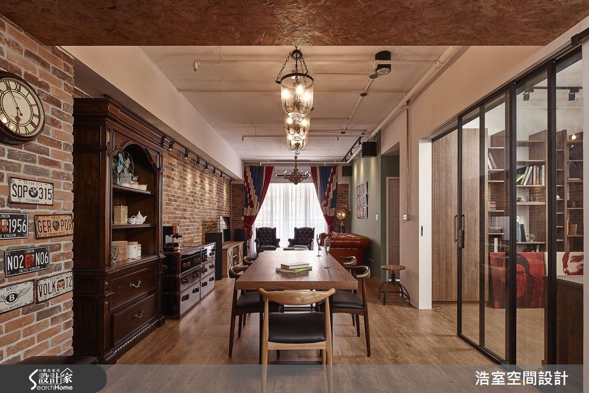 25坪新成屋(5年以下)_工業風餐廳案例圖片_浩室設計_浩室_15之10