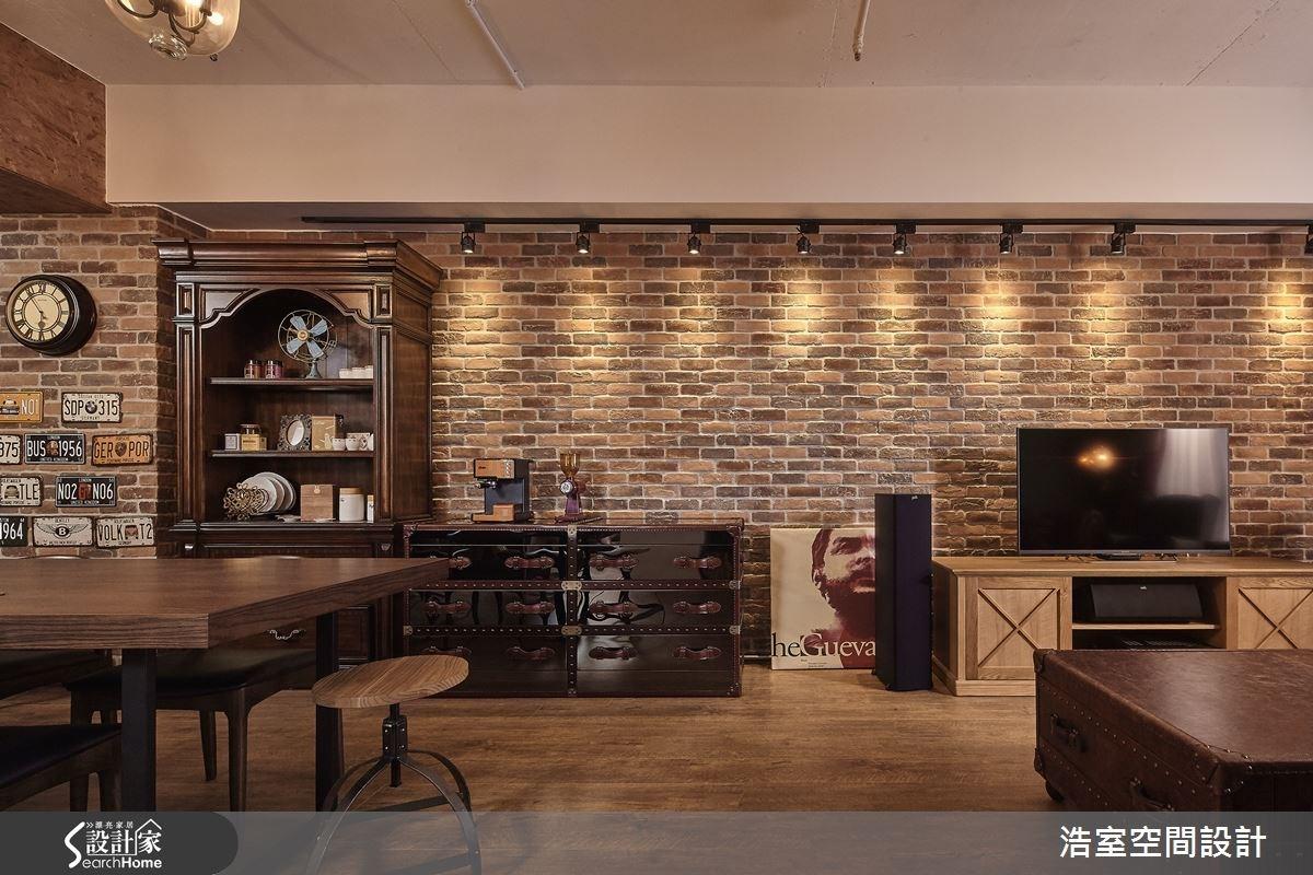 25坪新成屋(5年以下)_工業風餐廳案例圖片_浩室設計_浩室_15之12