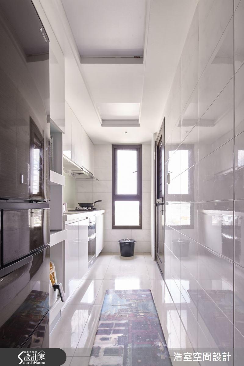 25坪新成屋(5年以下)_工業風廚房案例圖片_浩室設計_浩室_15之16