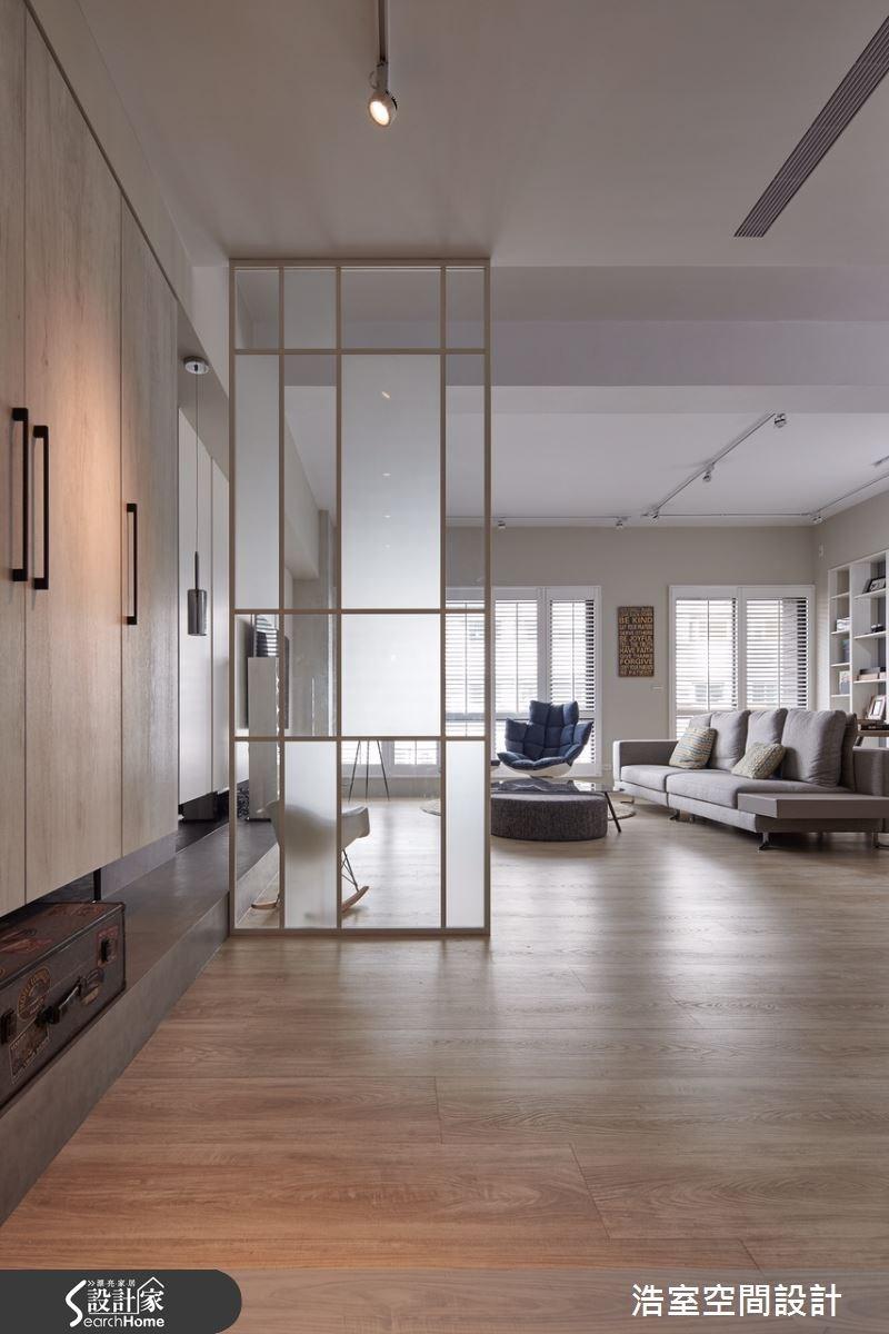 30坪新成屋(5年以下)_北歐風玄關客廳案例圖片_浩室設計_浩室_18之1