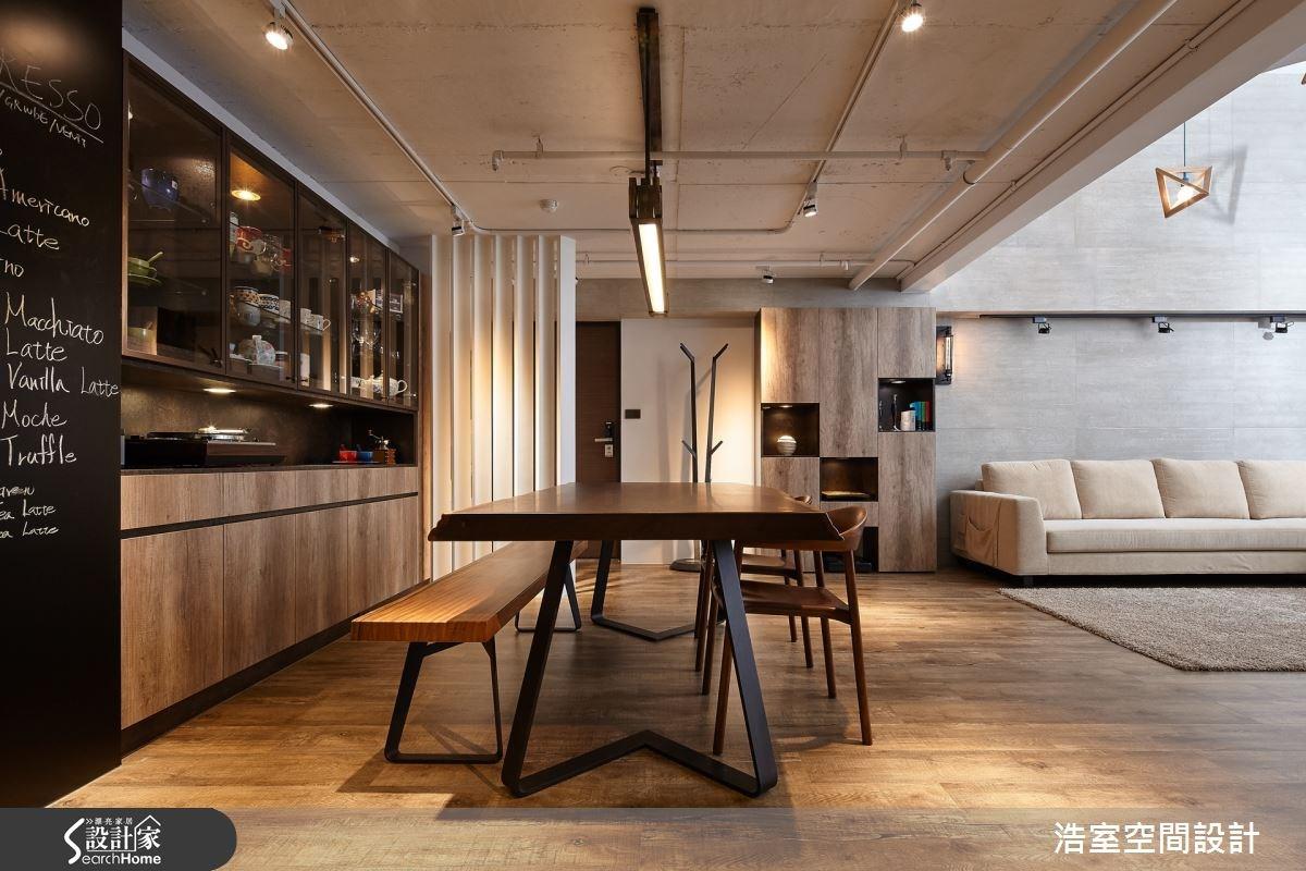 40坪老屋(16~30年)_工業風餐廳案例圖片_浩室設計_浩室_19之3