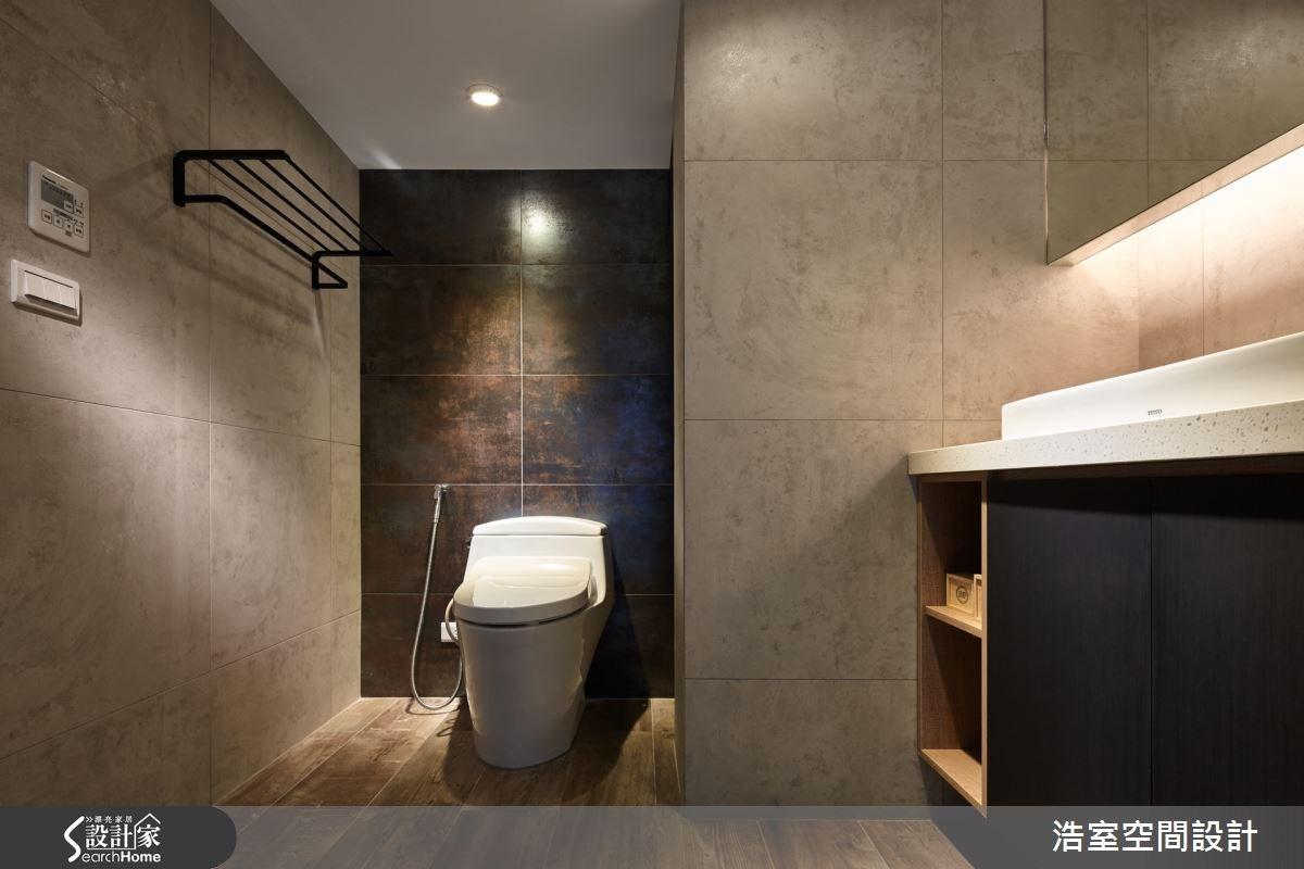 40坪老屋(16~30年)_工業風浴室案例圖片_浩室設計_浩室_19之17