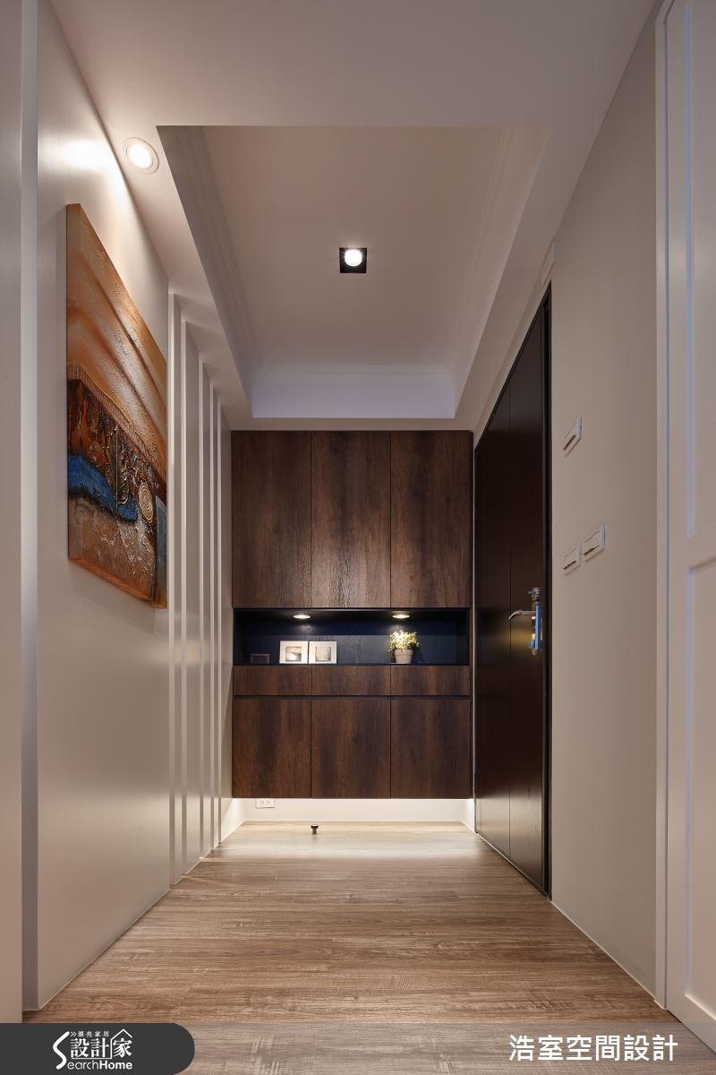 40坪新成屋(5年以下)_北歐風走廊案例圖片_浩室設計_浩室_20之1