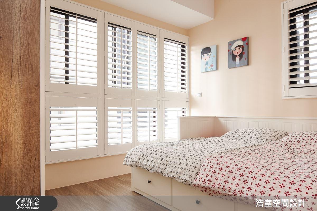 40坪新成屋(5年以下)_北歐風臥室案例圖片_浩室設計_浩室_20之14