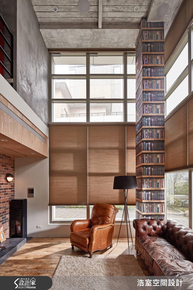 160坪新成屋(5年以下)_混搭風客廳案例圖片_浩室設計_浩室_21之1