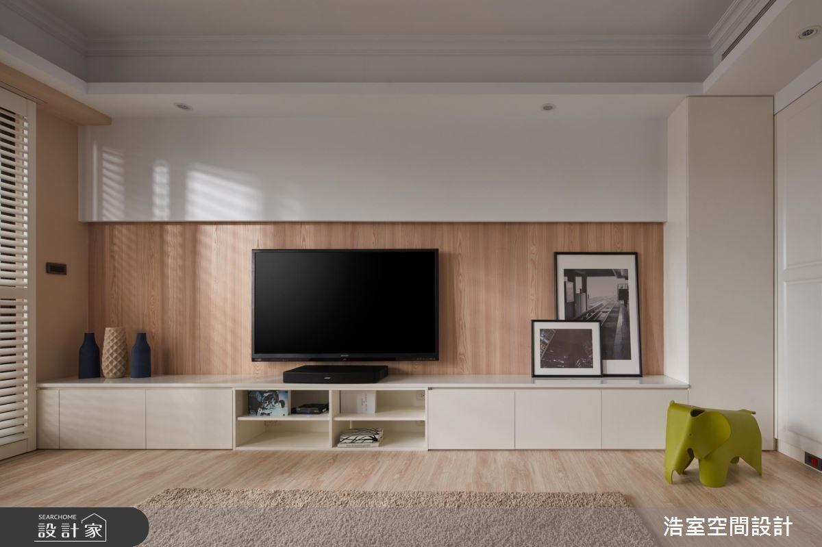 30坪新成屋(5年以下)_北歐風客廳案例圖片_浩室設計_浩室_22之3