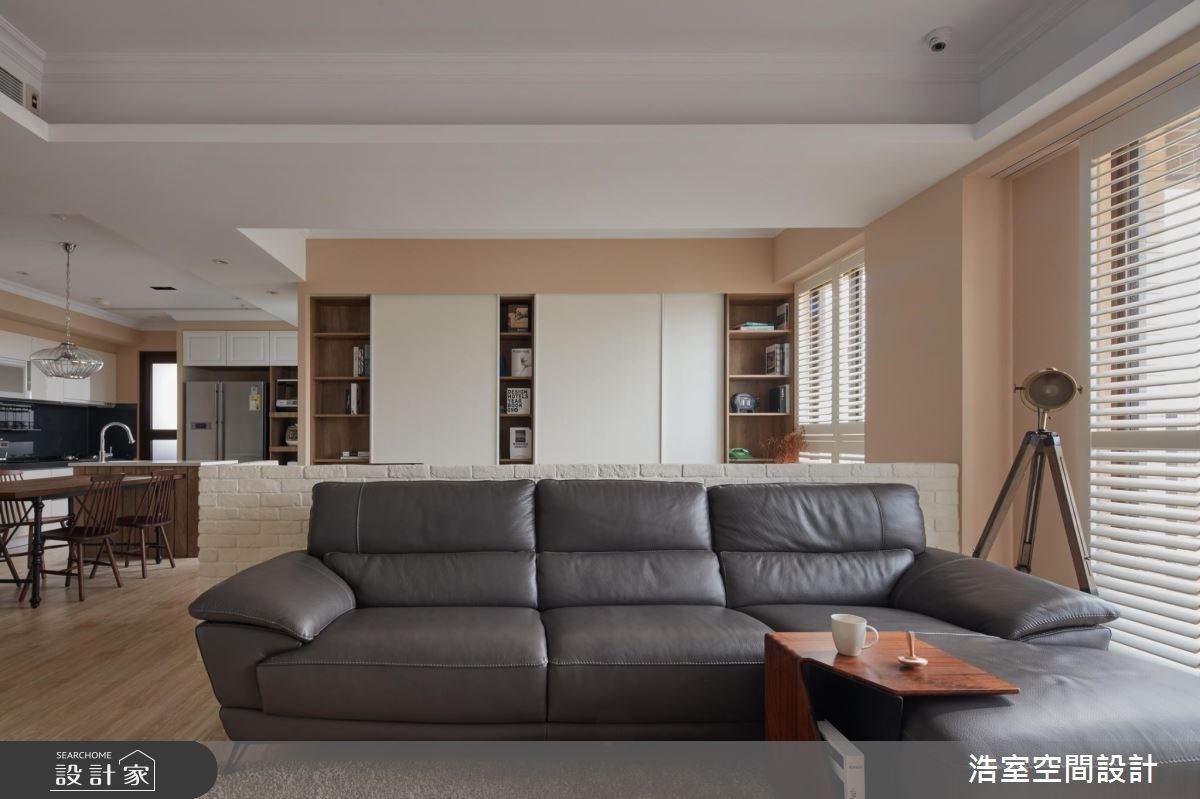 30坪新成屋(5年以下)_北歐風客廳餐廳案例圖片_浩室設計_浩室_22之5