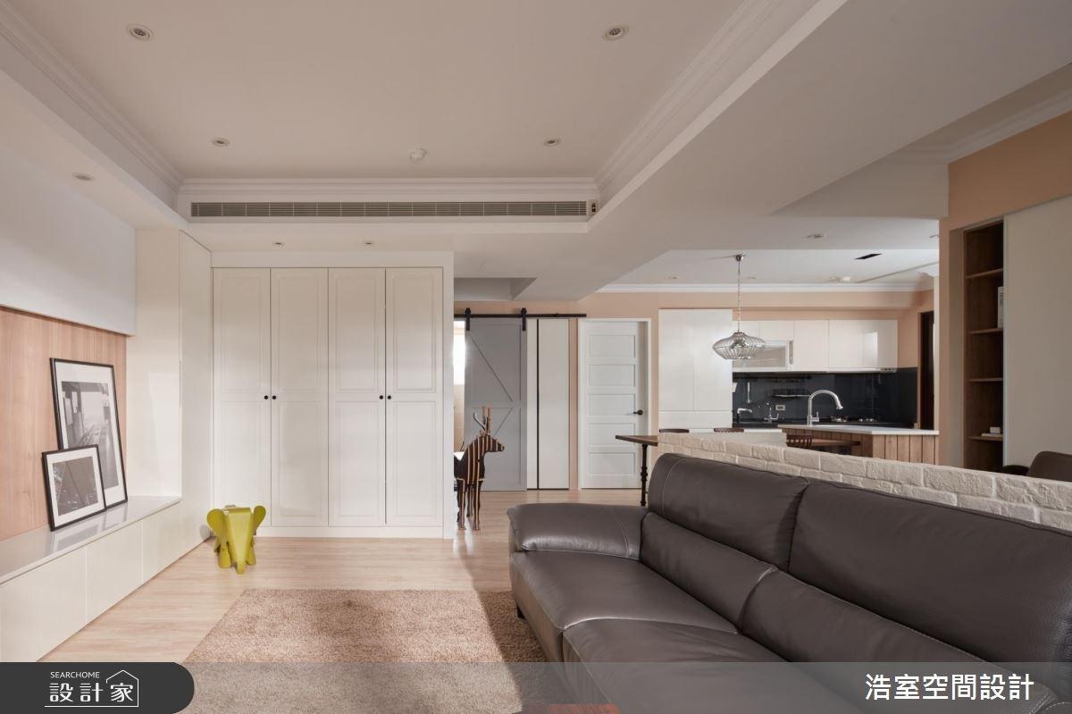 30坪新成屋(5年以下)_北歐風客廳廚房案例圖片_浩室設計_浩室_22之6