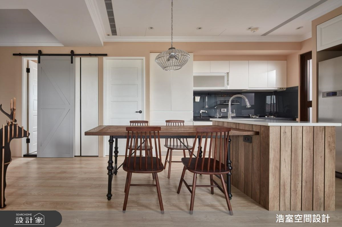 30坪新成屋(5年以下)_北歐風餐廳廚房案例圖片_浩室設計_浩室_22之8