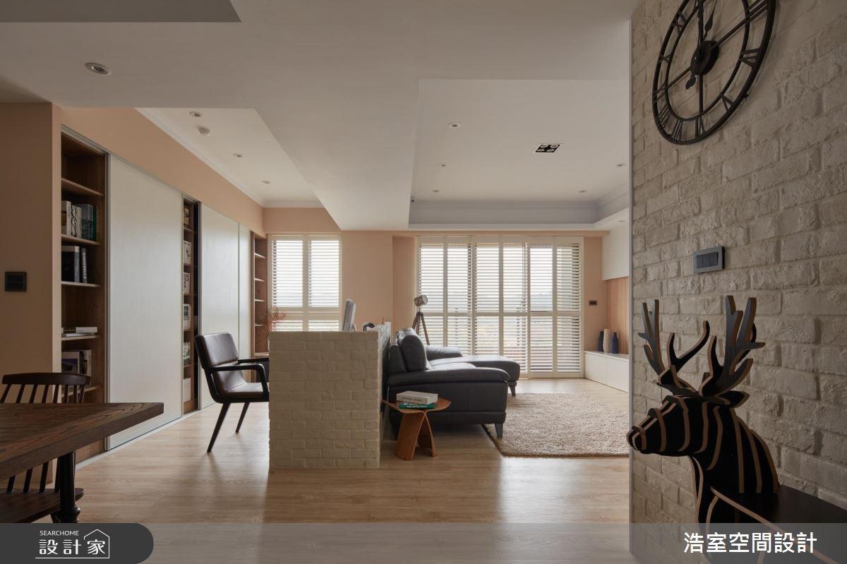 30坪新成屋(5年以下)_北歐風客廳書房案例圖片_浩室設計_浩室_22之9