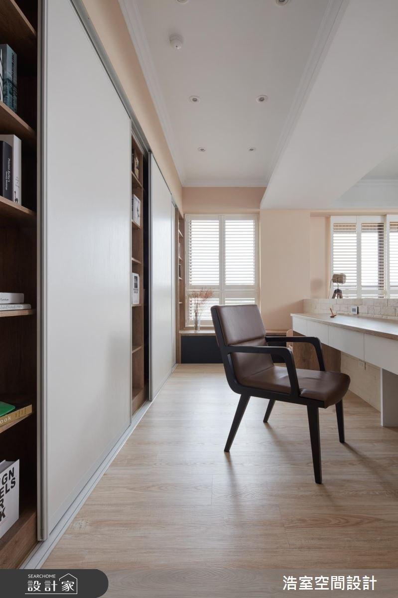 30坪新成屋(5年以下)_北歐風書房案例圖片_浩室設計_浩室_22之11