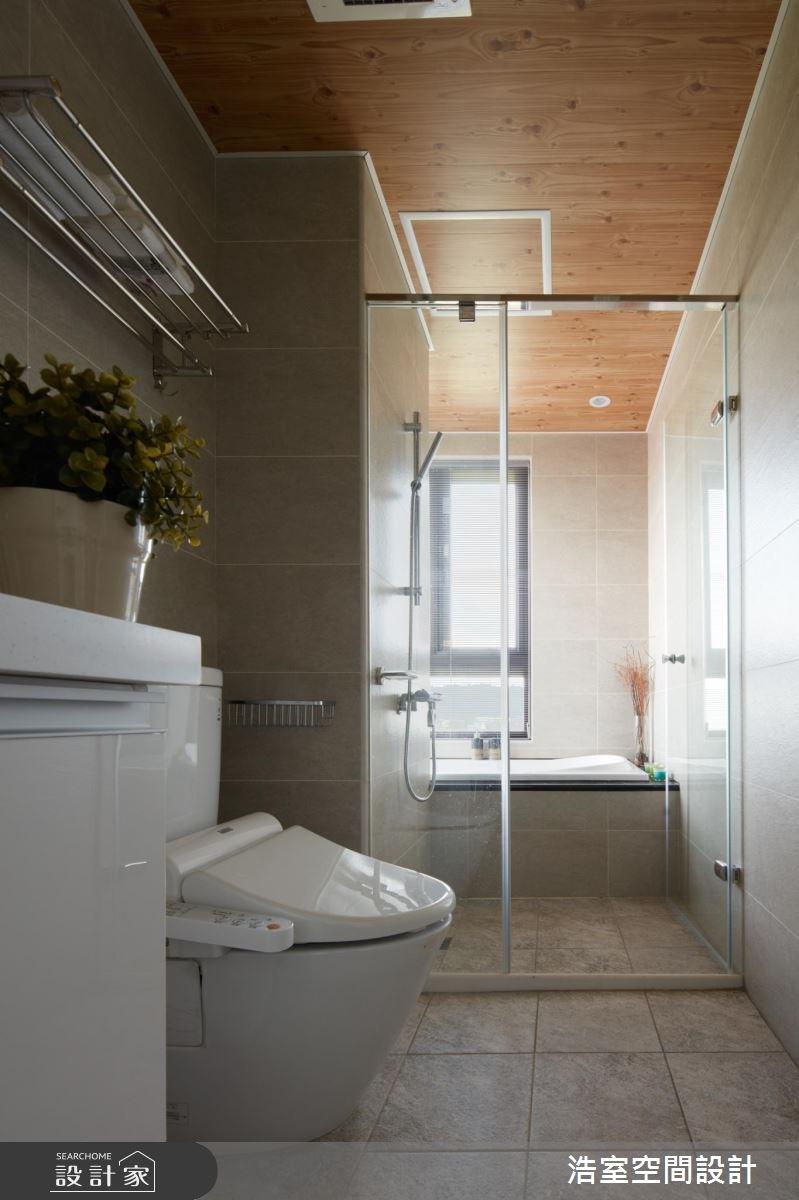 30坪新成屋(5年以下)_北歐風浴室案例圖片_浩室設計_浩室_22之12