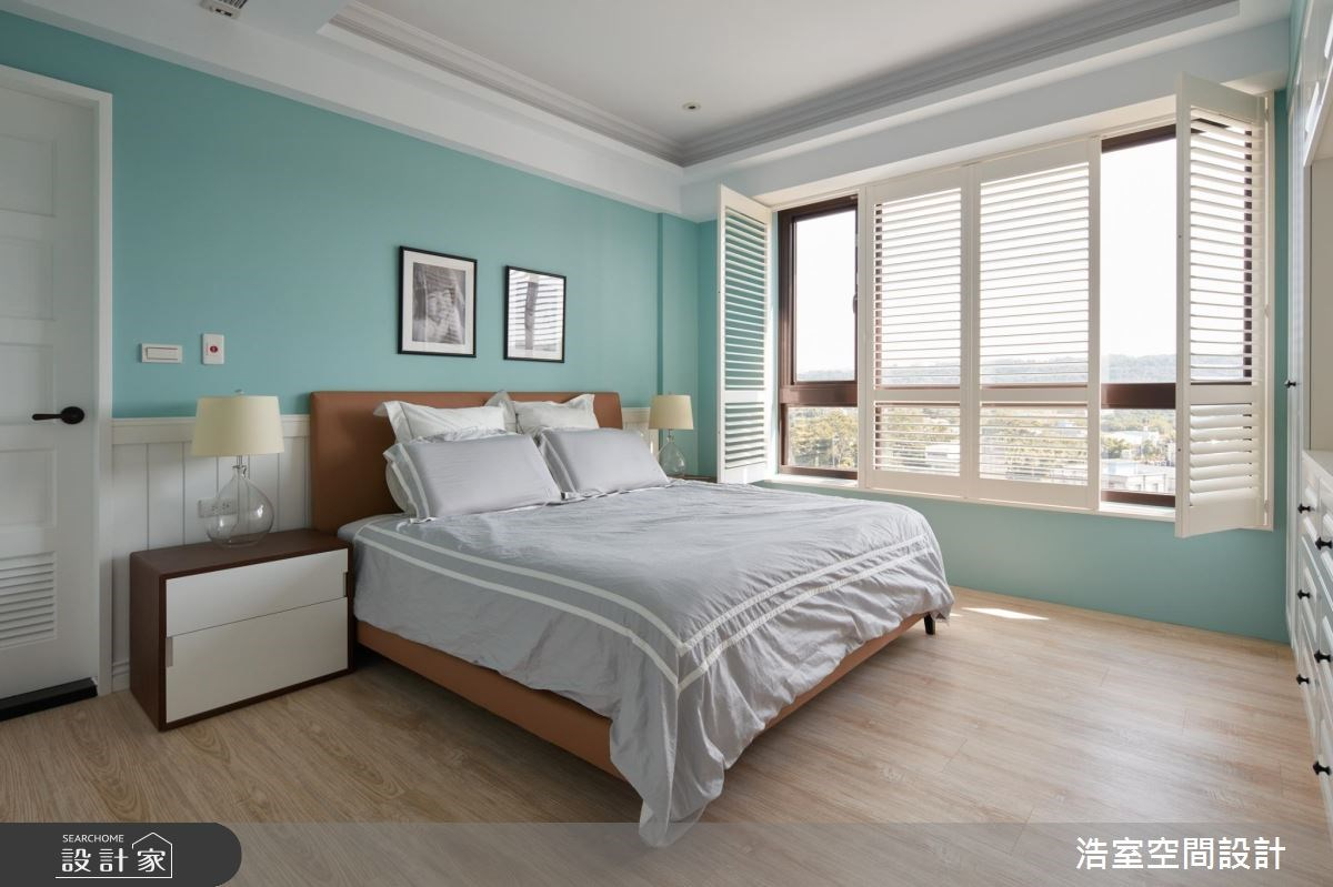 30坪新成屋(5年以下)_北歐風臥室案例圖片_浩室設計_浩室_22之13