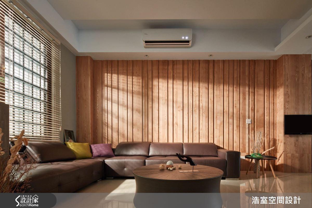 40坪新成屋(5年以下)_人文禪風客廳案例圖片_浩室設計_浩室_23之2