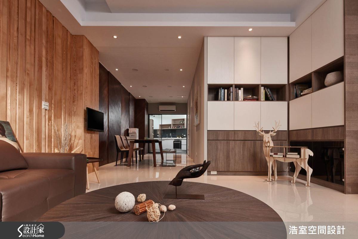40坪新成屋(5年以下)_人文禪風客廳餐廳廚房案例圖片_浩室設計_浩室_23之4