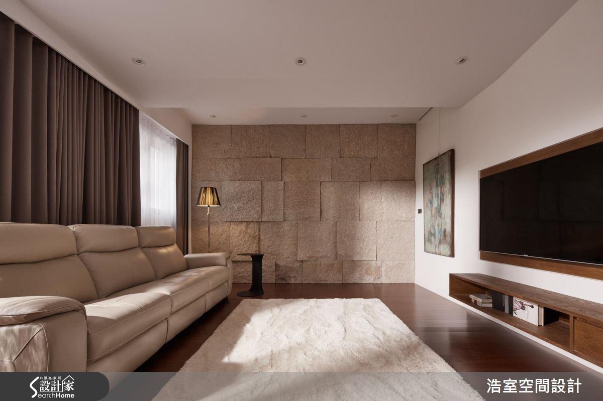 65坪新成屋(5年以下)_混搭風客廳案例圖片_浩室設計_浩室_24之2