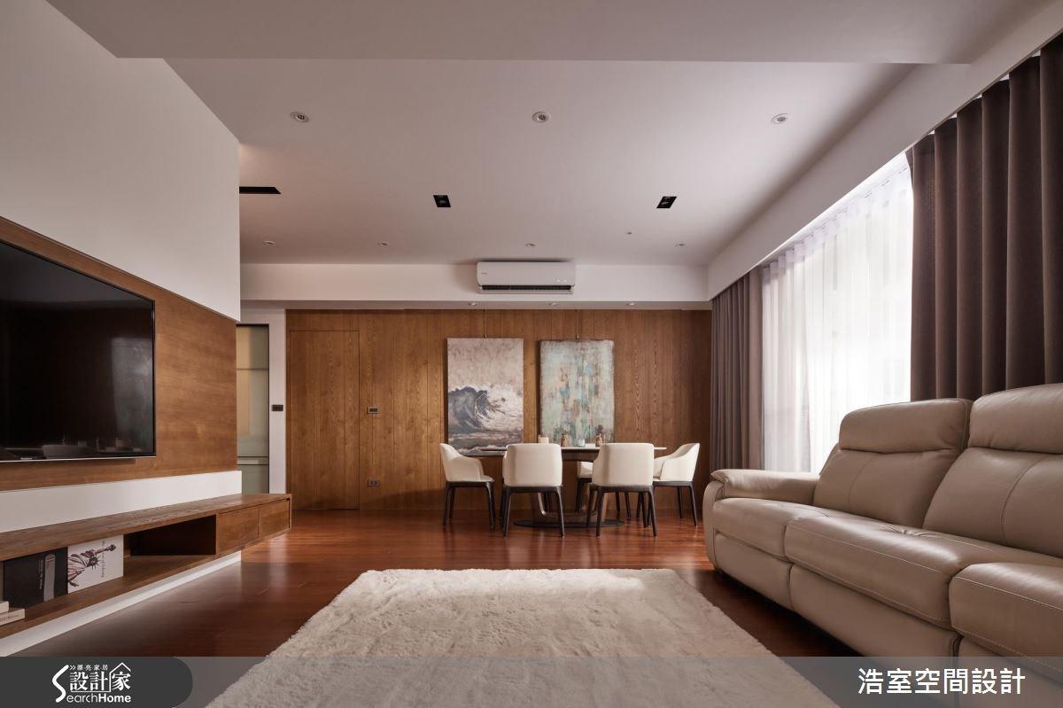 65坪新成屋(5年以下)_混搭風客廳餐廳案例圖片_浩室設計_浩室_24之4