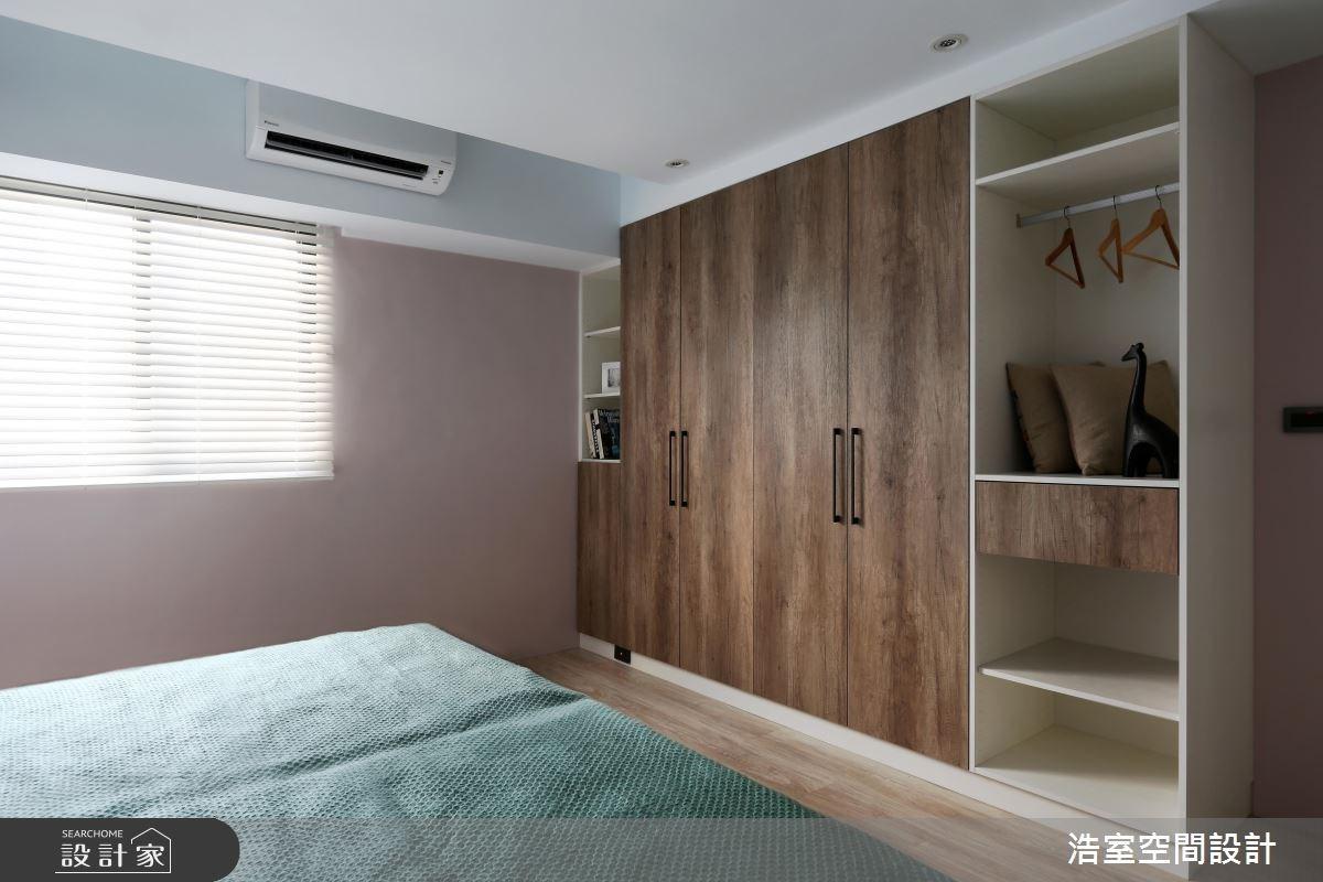 35坪老屋(16~30年)_美式風臥室案例圖片_浩室設計_浩室_29之8