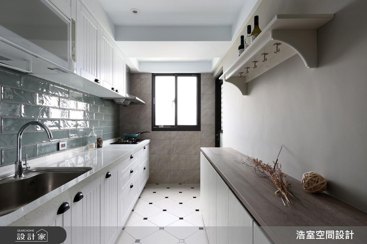 35坪老屋(16~30年)_美式風廚房案例圖片_浩室設計_浩室_29之15