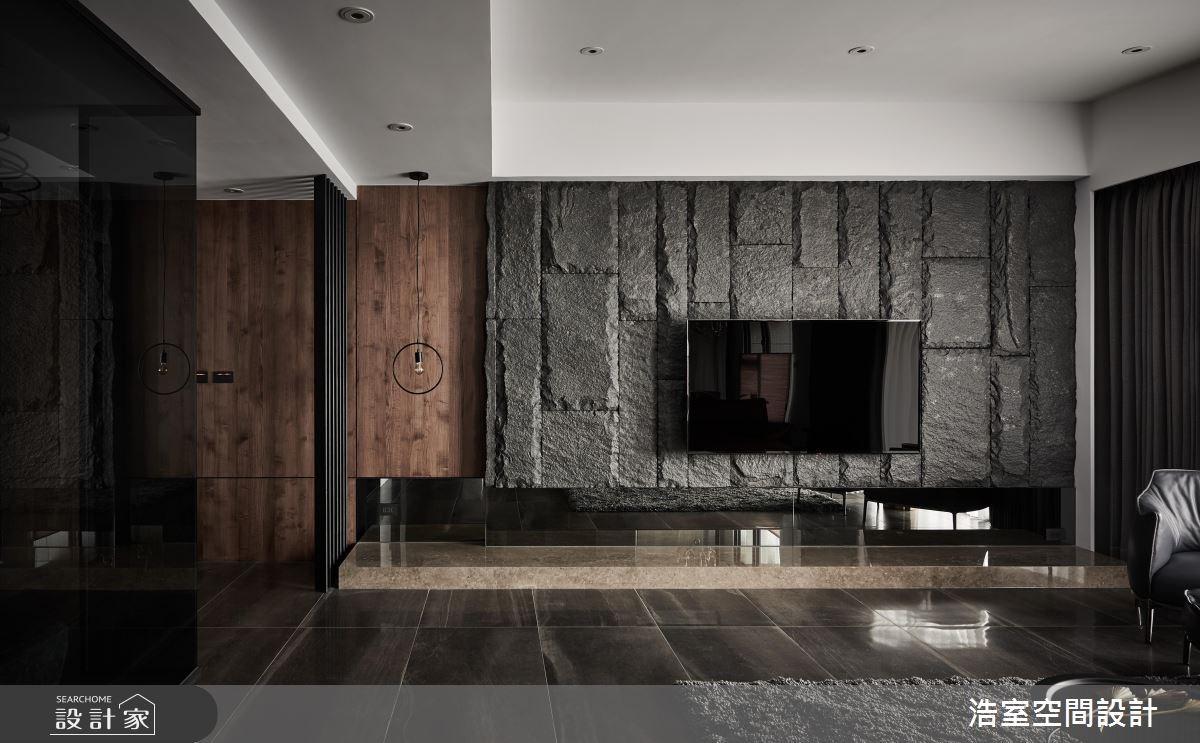50坪新成屋(5年以下)_現代風客廳案例圖片_浩室設計_浩室_32之4