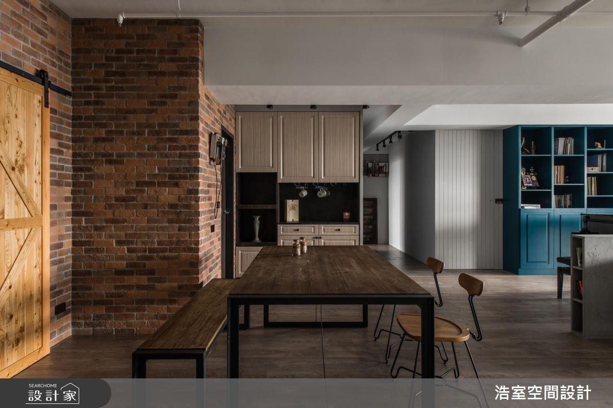 50坪新成屋(5年以下)_混搭風餐廳案例圖片_浩室設計_浩室_33之2