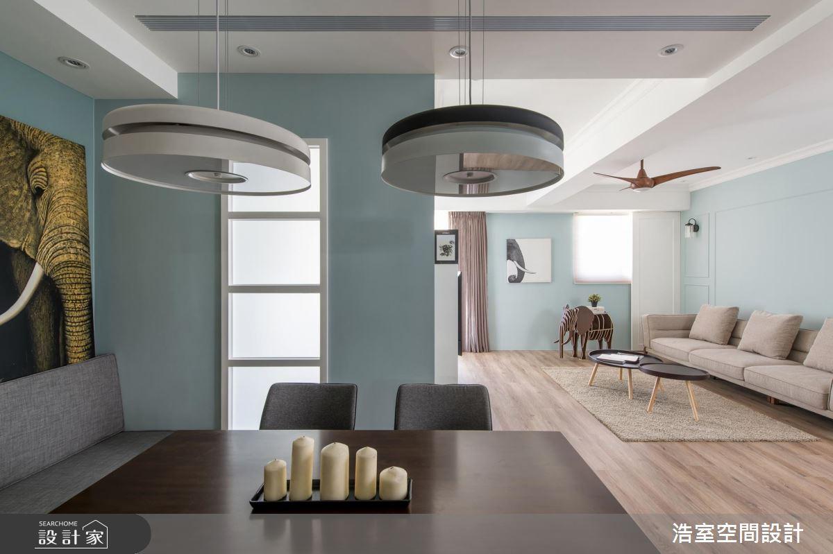 傾注Tiffany藍色調想像 調和充滿生命力的北歐風家屋
