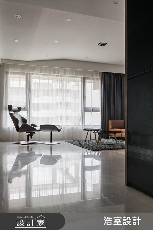 50坪新成屋(5年以下)_現代風客廳案例圖片_浩室設計_浩室_36之2