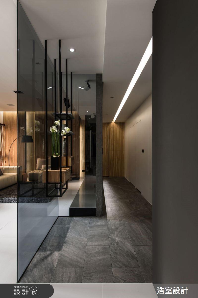 90坪新成屋(5年以下)_現代風玄關案例圖片_浩室設計_浩室_37之2