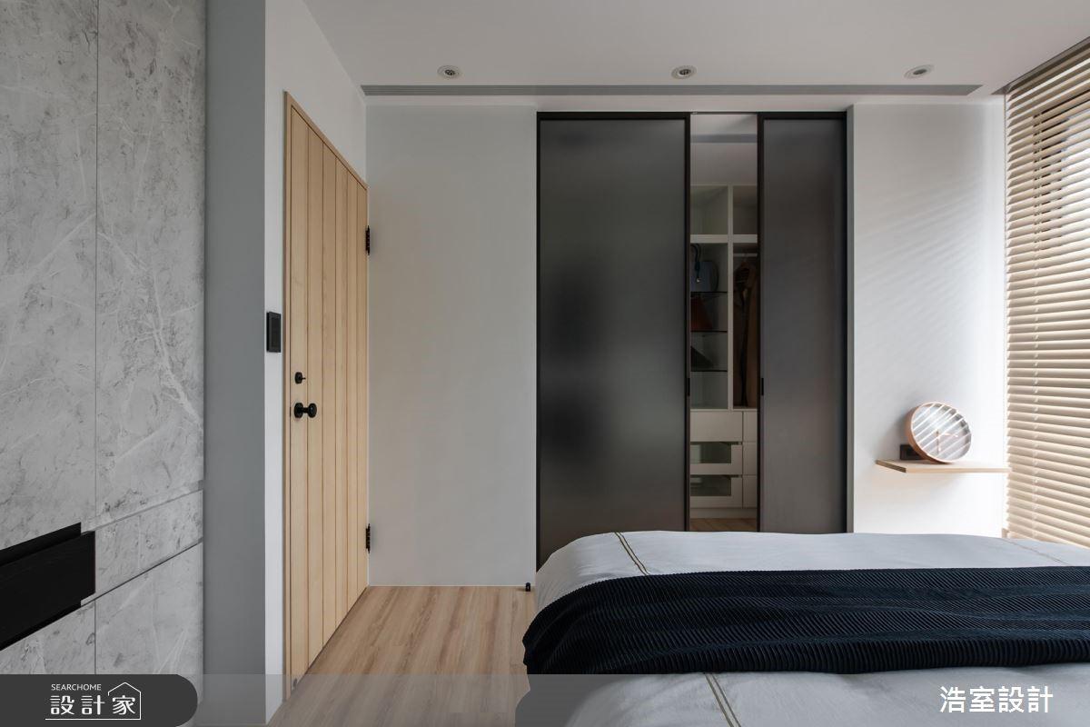 45坪新成屋(5年以下)_混搭風臥室案例圖片_浩室設計_浩室_38之16