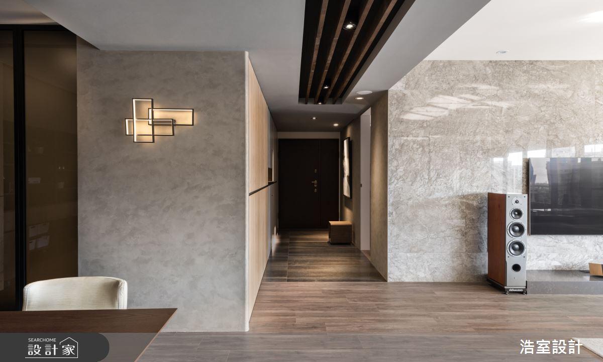 100坪新成屋(5年以下)_現代風案例圖片_浩室設計_浩室_40之2