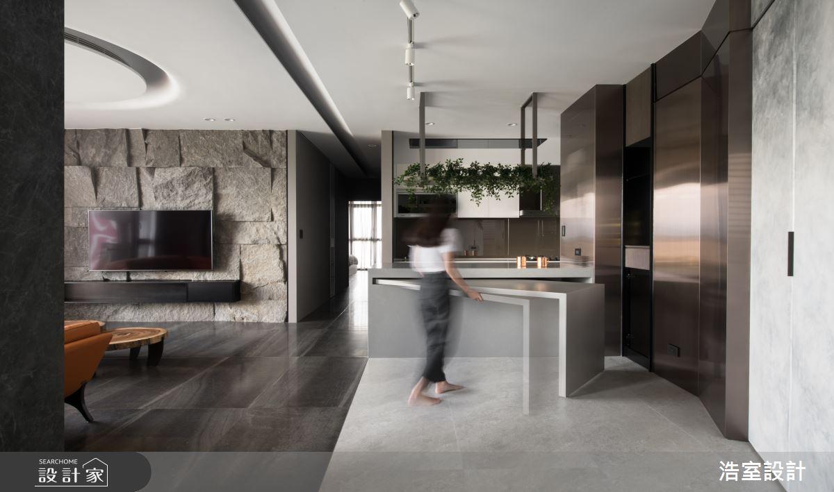 60坪新成屋(5年以下)_現代風吧檯案例圖片_浩室設計_浩室_41之3
