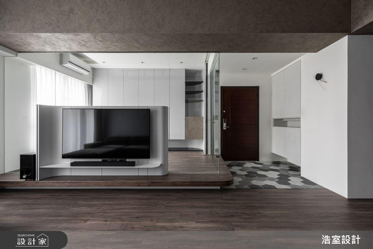 30坪新成屋(5年以下)_現代風案例圖片_浩室設計_浩室_47之4