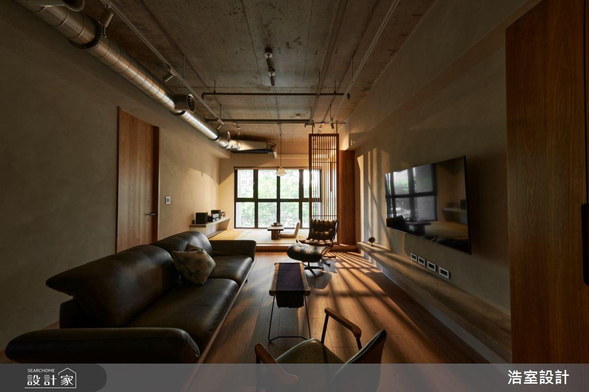 25坪新成屋(5年以下)_人文禪風客廳案例圖片_浩室設計_浩室_52之2
